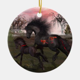 Het Ornament van de Cirkel van de Paarden van