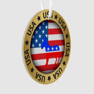 Het Ornament van de Democraat van de V.S.