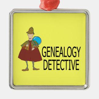 Het Ornament van de Detective van de genealogie