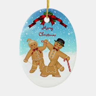 Het Ornament van de Familie van de peperkoek