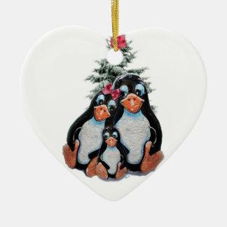 Het Ornament van de Familie van de pinguïn
