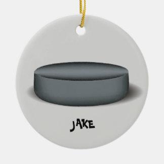 Het Ornament van de Foto van de Puck van het
