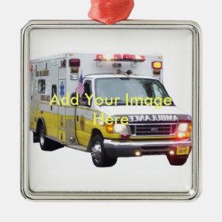 Het Ornament van de Foto van de ziekenwagen