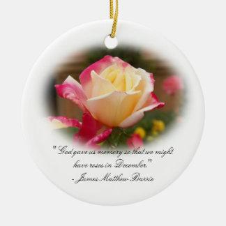 Het Ornament van de herinnering - Rozen in