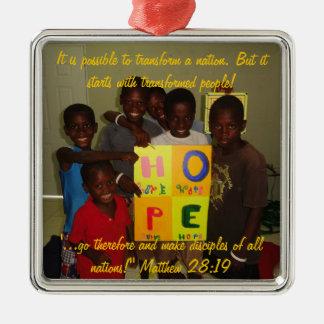 Het Ornament van de hoop