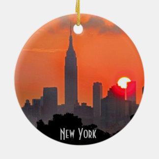 Het Ornament van de Horizon van New York Manhattan