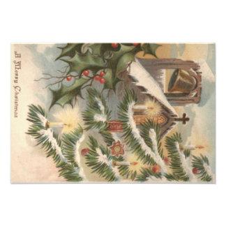 Het Ornament van de Kaars van de Kerstboom van de Foto Prints