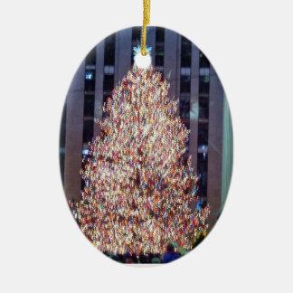 Het Ornament van de Kerstboom NYC