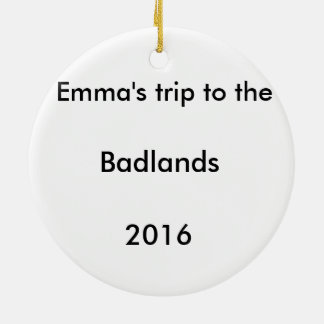 Het Ornament van de Kerstboom van Badlands