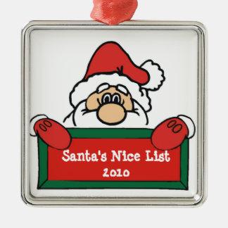 Het Ornament van de Kerstboom van de Lijst van