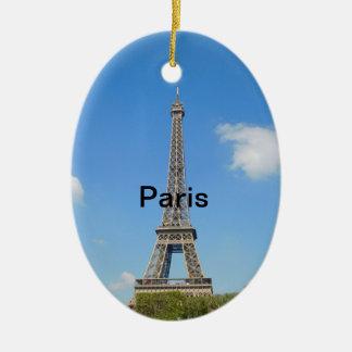 Het Ornament van de Kerstboom van Parijs