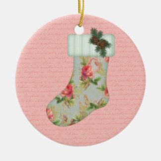 Het Ornament van de Kous van Kerstmis van het