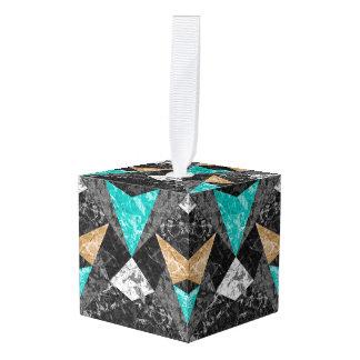 Het Ornament van de kubus Marmeren Geometrische