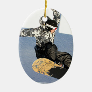 Het Ornament van de Lancering van Snowboard