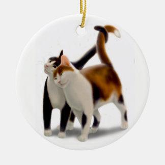 Het Ornament van de Liefde van de Kat van het kat