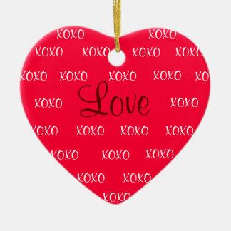 Het Ornament van de Liefde XOXO