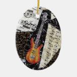 Het Ornament van de Muziek van de basgitaar