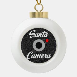 Het Ornament van de Nok van de kerstman Keramische Bal Ornament