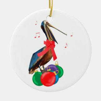 Het Ornament van de pelikaan en van Kerstmis van