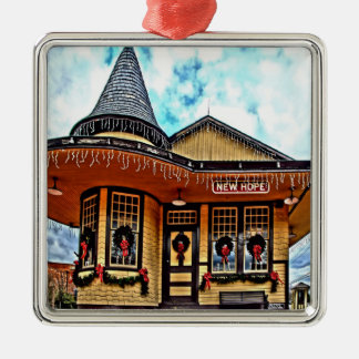 Het Ornament van de Post van NewHope