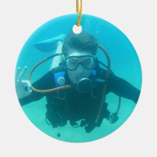 Het Ornament van de scuba-duiker