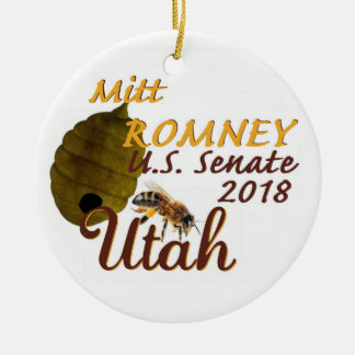 Het Ornament van de Senaat van Mitt Romney 2018