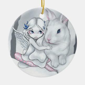 """Het Ornament van de sneeuw """"van het Konijntje"""""""