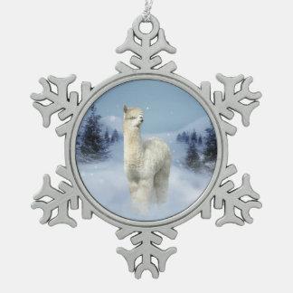 Het Ornament van de Sneeuwvlok van het Tin van de