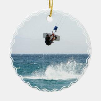 Het Ornament van de Sprong van Kiteboarding