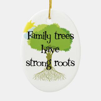 Het Ornament van de Stamboom van de genealogie