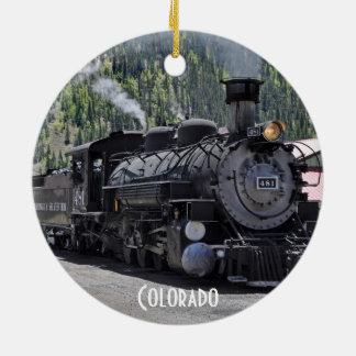 Het Ornament van de Trein van de Spoorweg durango