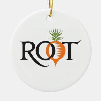 Het Ornament van de Vakantie van de wortel