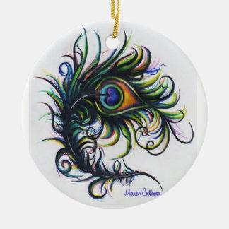 Het Ornament van de Veer van de pauw