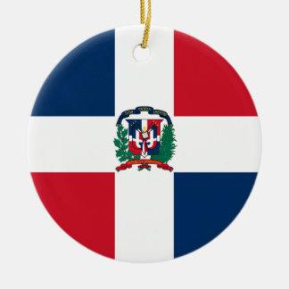 Het Ornament van de Vlag van de Dominicaanse