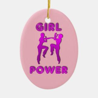 Het Ornament van de Vrouwen van Sparring van de