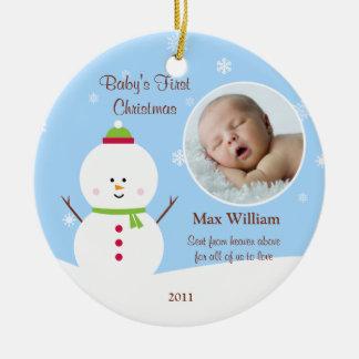 Het Ornament van Eerste Kerstmis van de baby