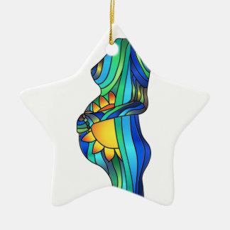 Het Ornament van het Gebrandschilderd glas van de