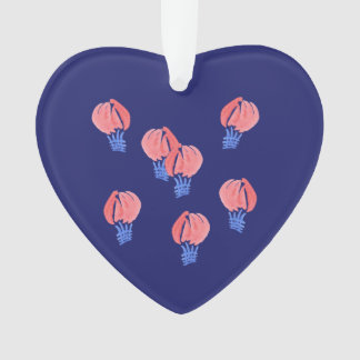 Het Ornament van het Hart van de Ballons van de