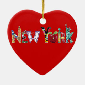 Het Ornament van het Hart van New York