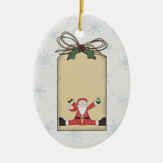 Het Ornament van het Label van de Gift van de