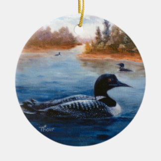 Het Ornament van het Meer van de duiker