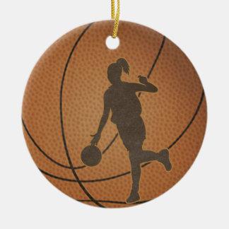 Het Ornament van het Meisje van het basketbal