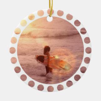 Het Ornament van het Meisje van Surfer