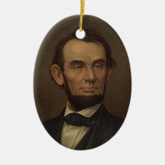 Het Ornament van het Portret van Lincoln van Abe