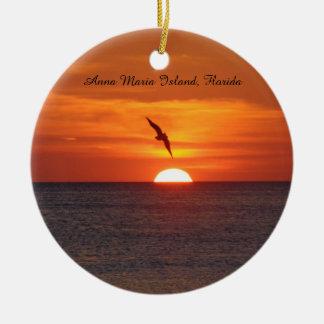 Het ornament van het Strand van de zonsondergang