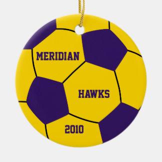 Het Ornament van het Voetbal van de douane
