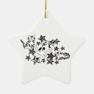 Het Ornament van katten & van Sterren ~