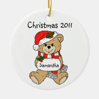 Het Ornament van Kerstmis 2011 met de Naam van Uw