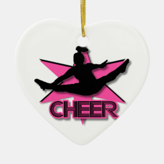 Het ornament van Kerstmis van Cheerleader