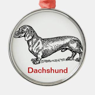 Het Ornament van Kerstmis van Dachsie van de